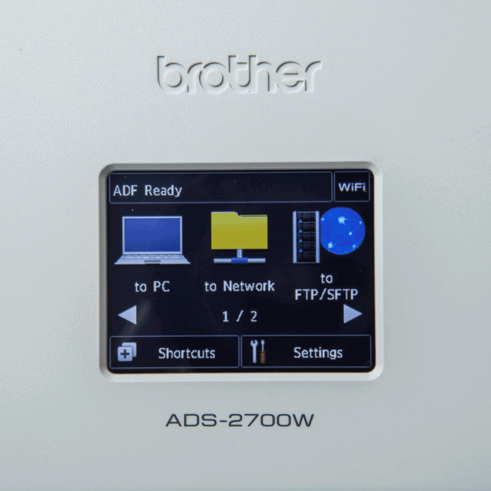 Scanner de documente wireless Brother ADS-2700W 6