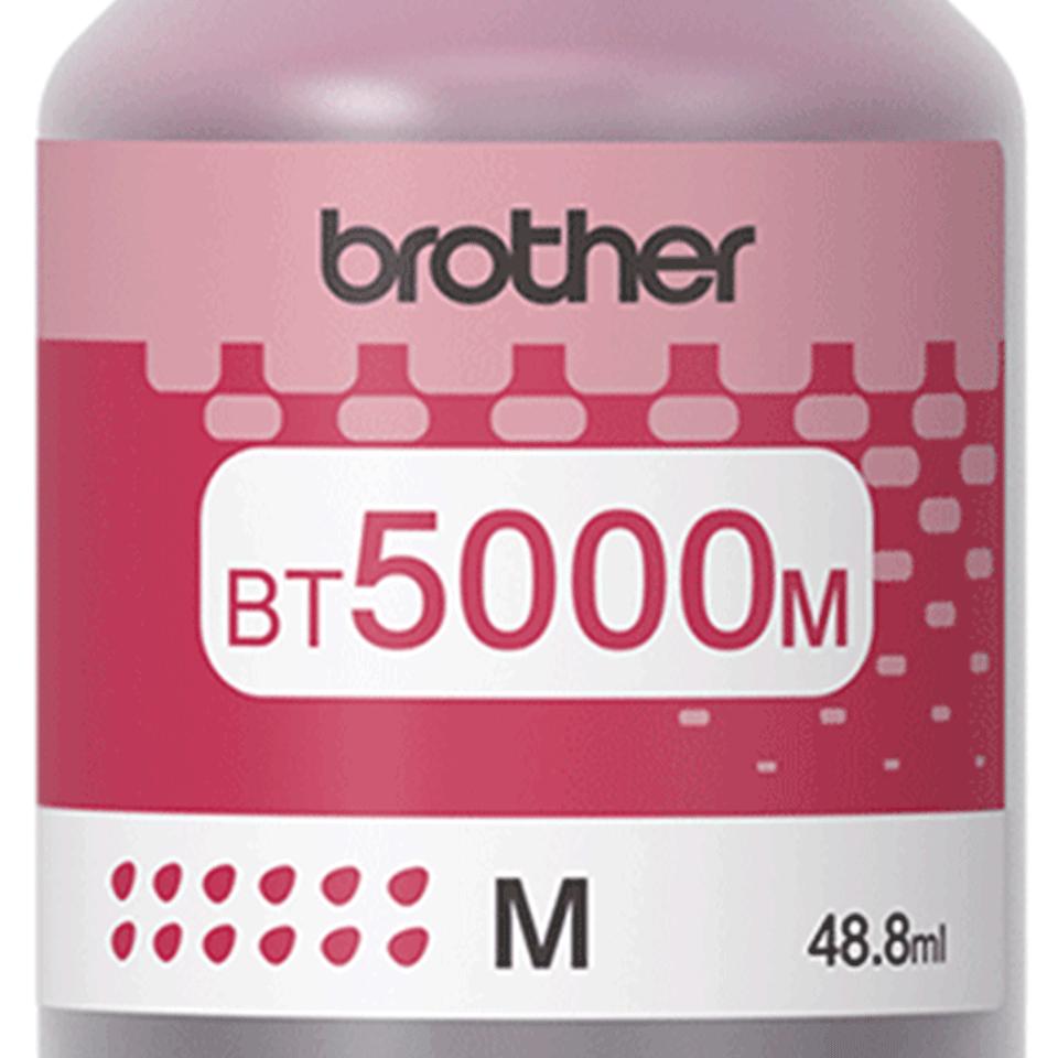 Flacon cu cerneală magenta de capacitate mare original Brother BT5000M 2