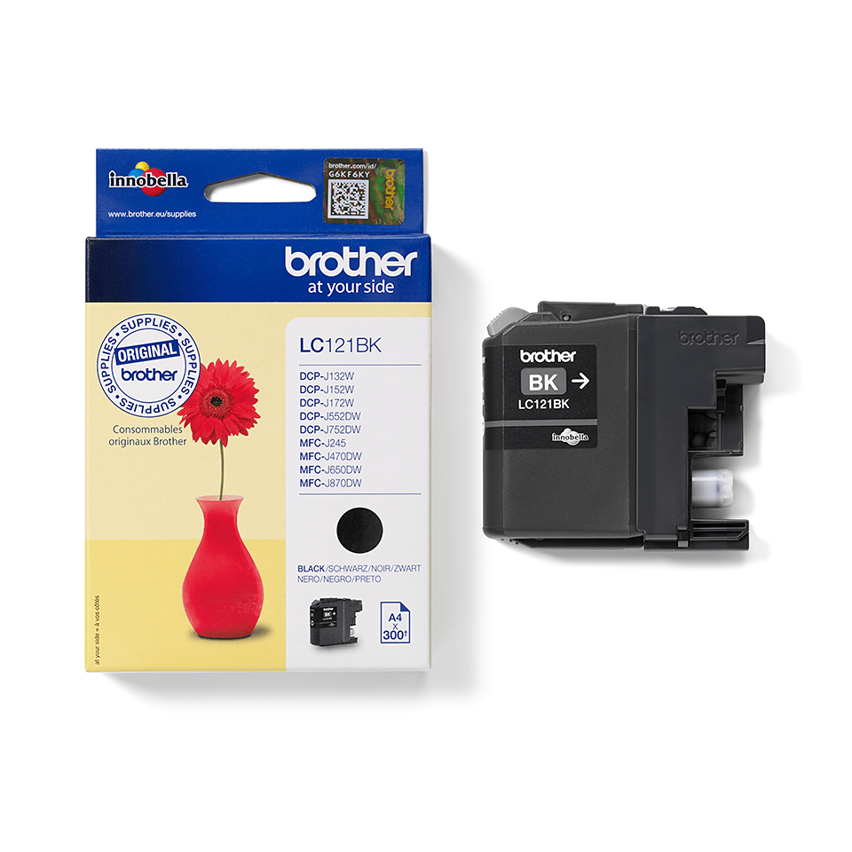 Cartuș de cerneală original Brother LC121BK – negru 3