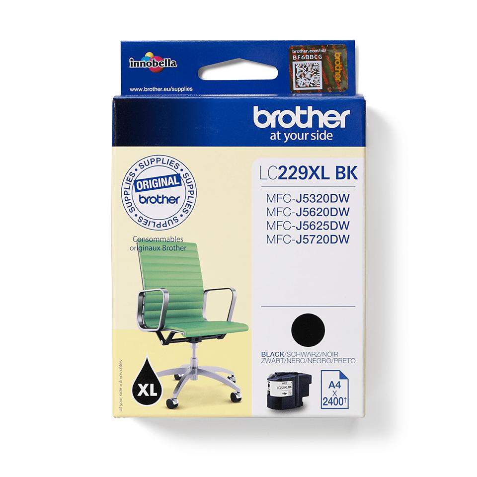 Cartuș de cerneală original Brother LC229XLBK – negru 2
