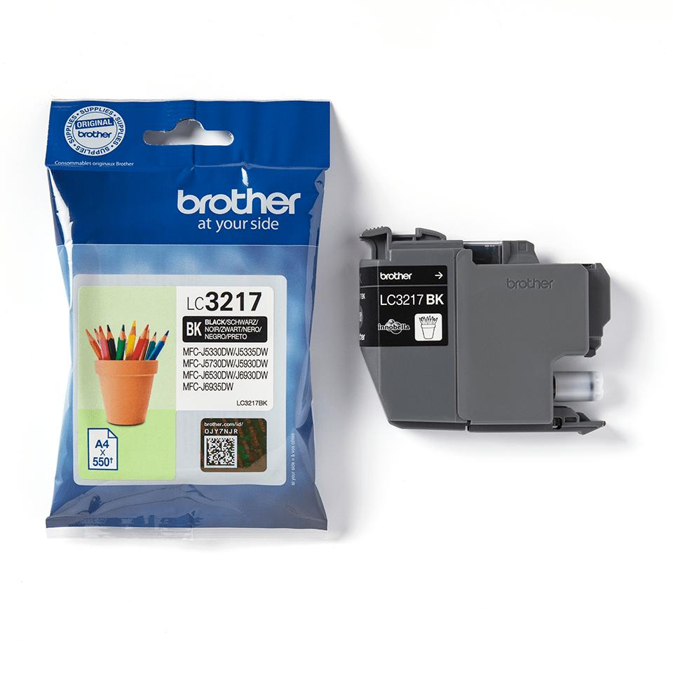 Cartuș de cerneală original Brother LC3217BK – negru 3