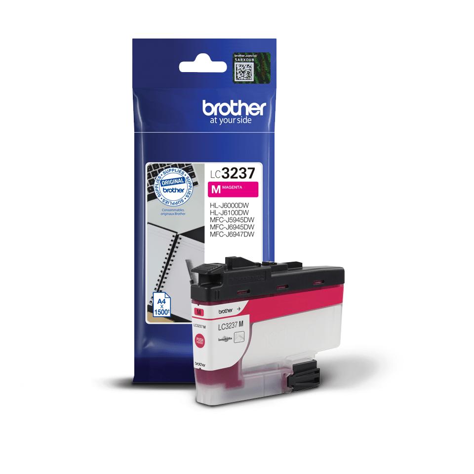 Cartuș de cerneală original Brother LC3237M – Magenta 3