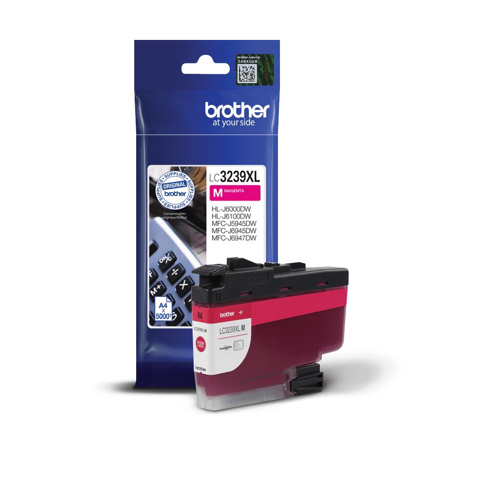 Cartuș de cerneală de capacitate mare original Brother LC3239XLM – Magenta 2