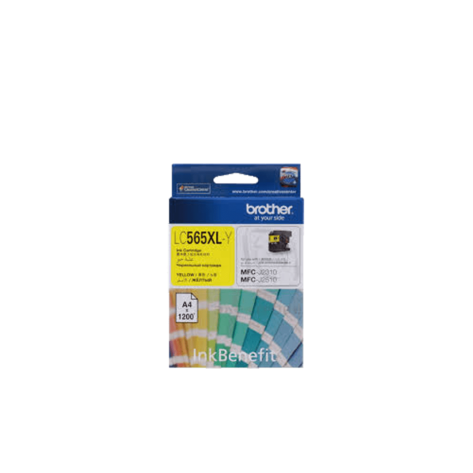 Genuine Brother LC565XLY Ink Cartridge – Yellow