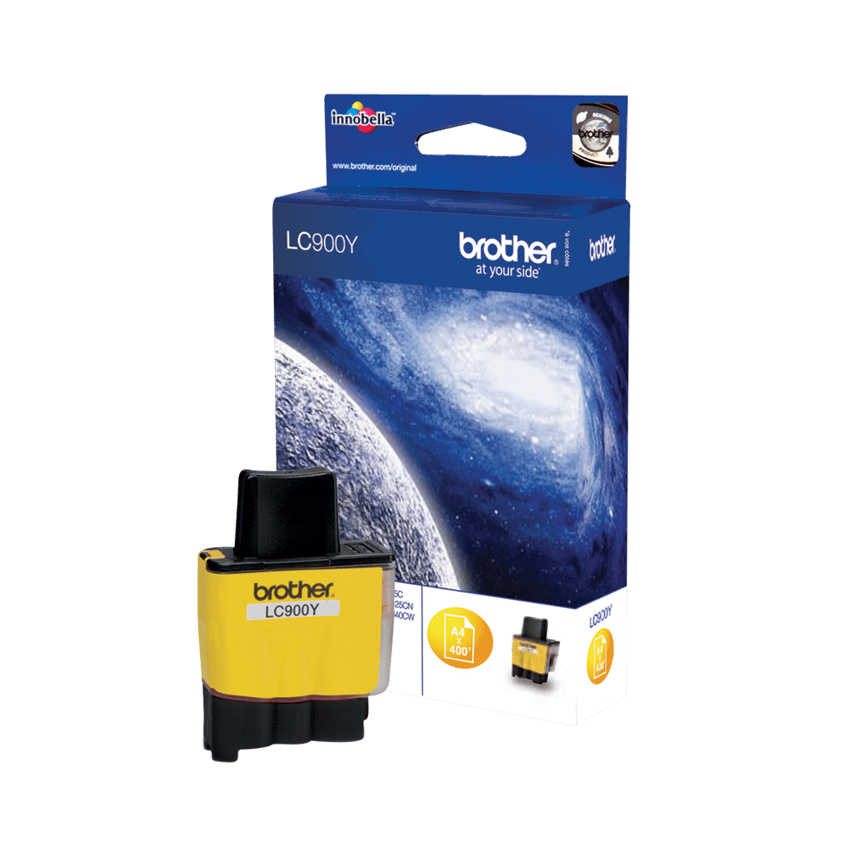 Genuine Brother LC900Y Ink Cartridge – Yellow