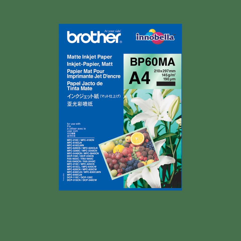 Hârtie A4 inkjet mată originală Brother BP60MA