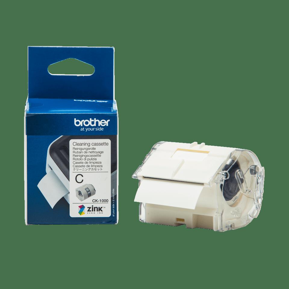 Rolă pentru curățarea capului de imprimare originală Brother CK-1000, 50mm lățime 3