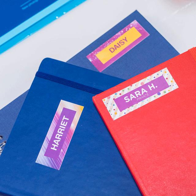 Rolă de etichete color continuă originală Brother CZ-1003, 19 mm lățime 15