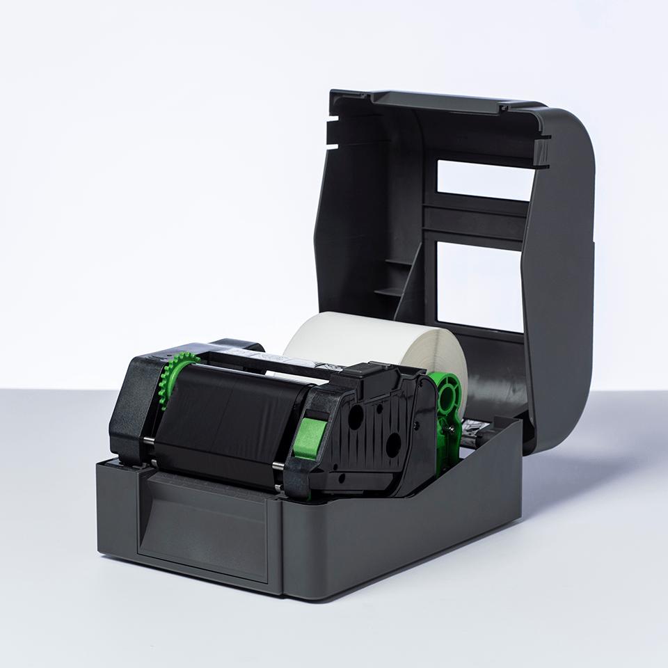 BRS-1D300-110 ribbon cu cerneală neagră și rășină standard pentru transfer termic 2