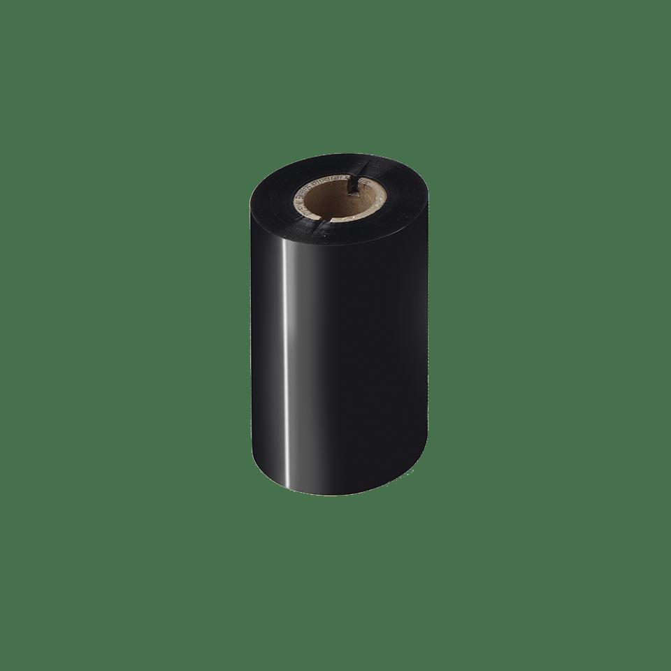BRS-1D300-110 ribbon cu cerneală neagră și rășină standard pentru transfer termic