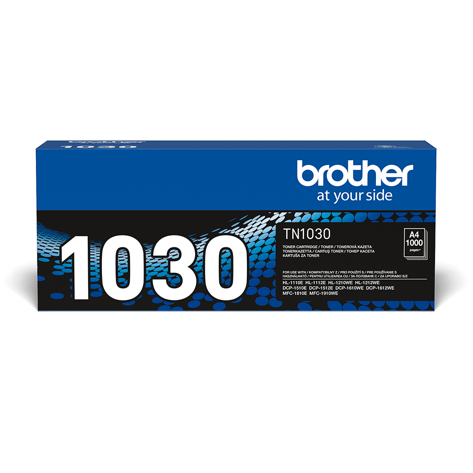 Cartuș de toner negru original Brother TN-1030 2