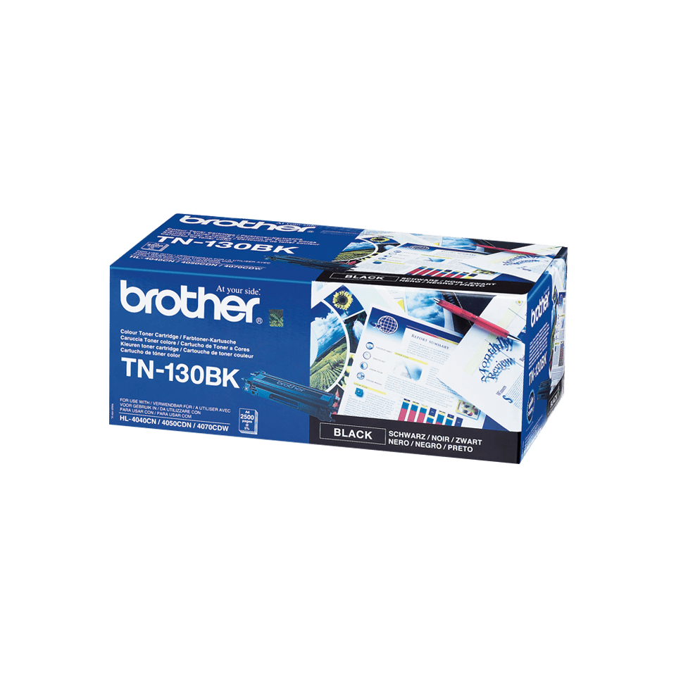 Cartuș de toner original Brother TN130BK – negru