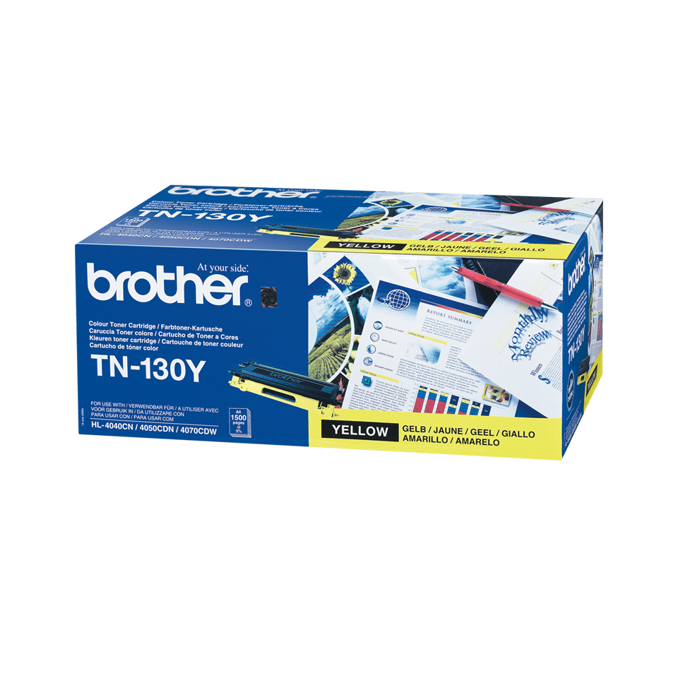 Cartuș de toner original Brother TN130Y – galben