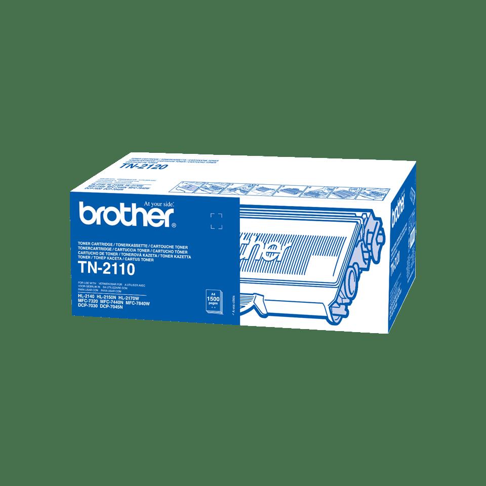 Cartuș de toner original Brother TN2110 – negru