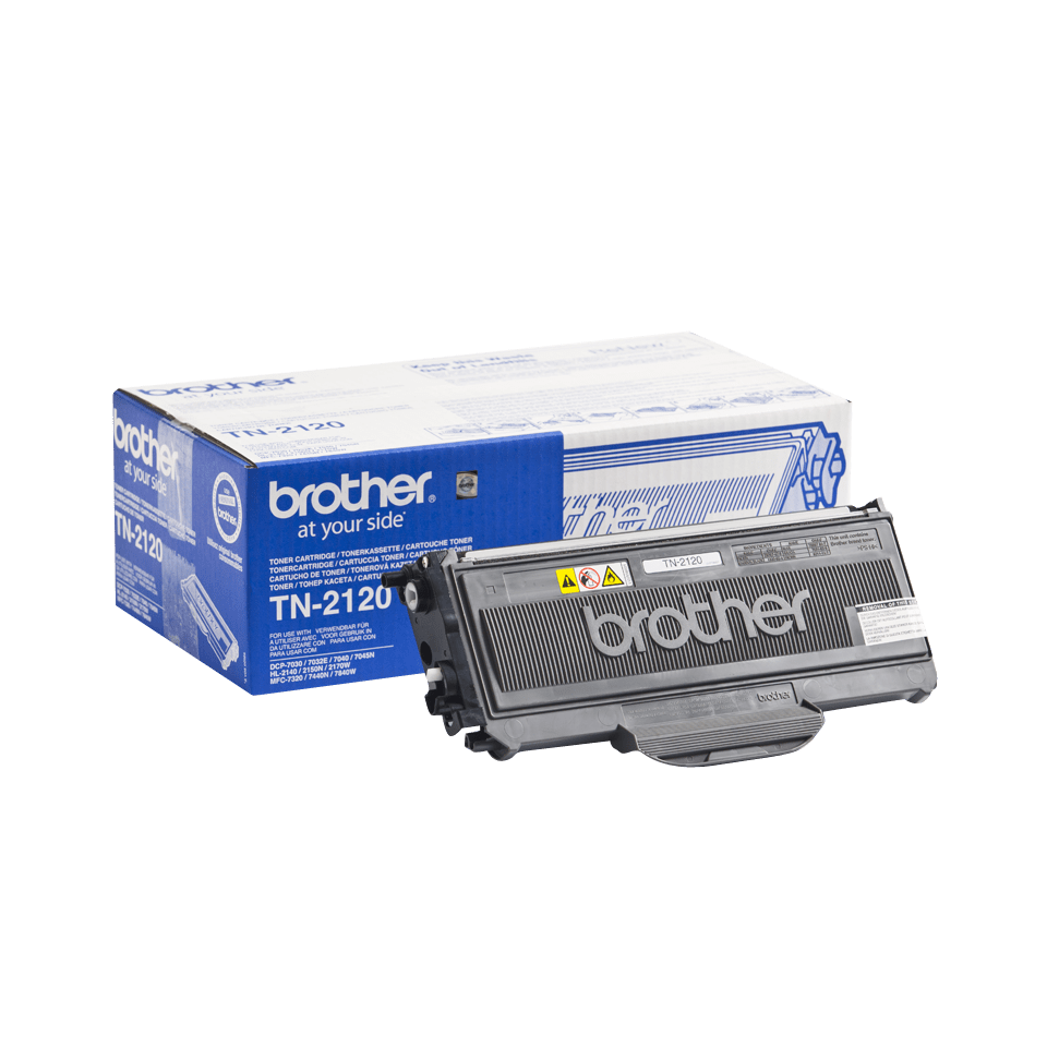 Cartuș de toner de capacitate mare original Brother TN-2120 – negru 2