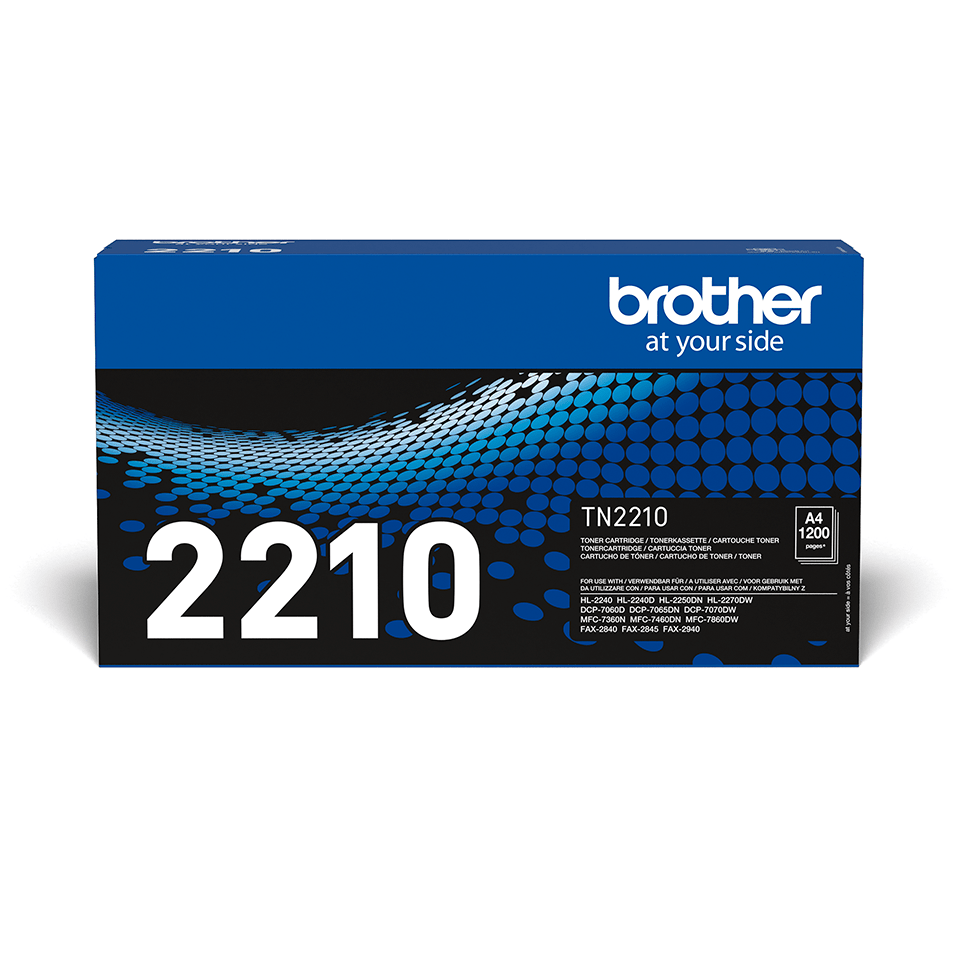 Cartuș de toner original Brother TN-2210 – negru 2