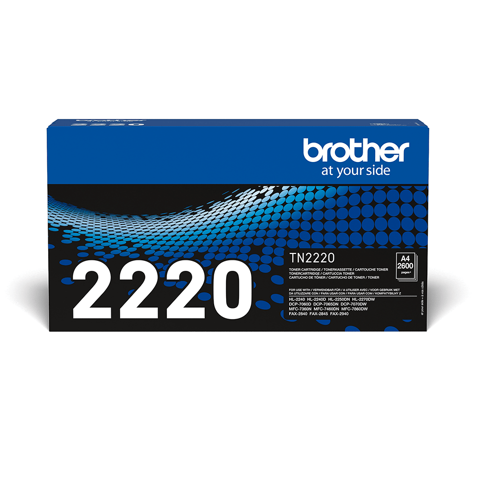 Cartuș de toner negru de capacitate mare original Brother TN-2220 2