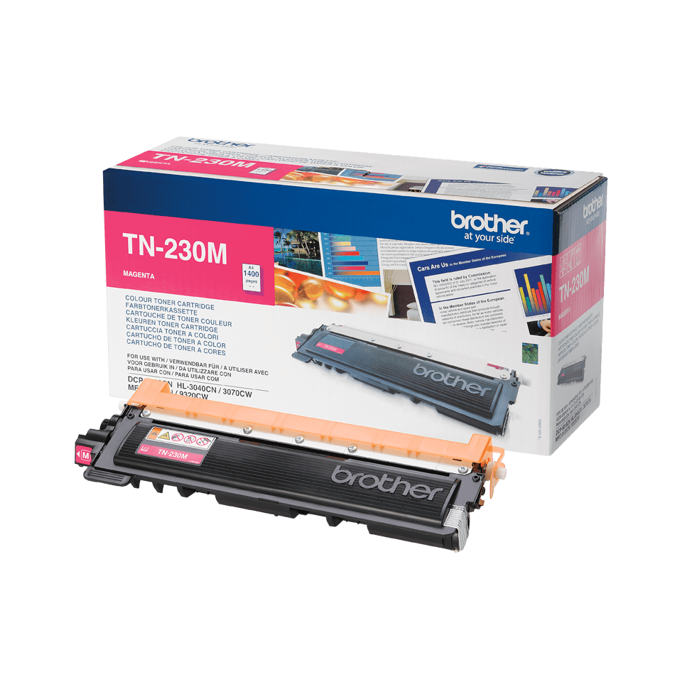Cartuș de toner original Brother TN230M – magenta