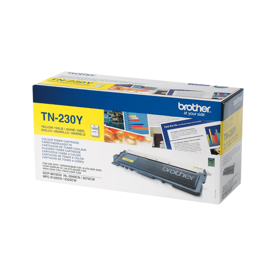 Cartuș de toner original Brother TN230Y – galben