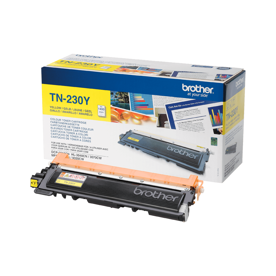 Cartuș de toner original Brother TN230Y – galben 2