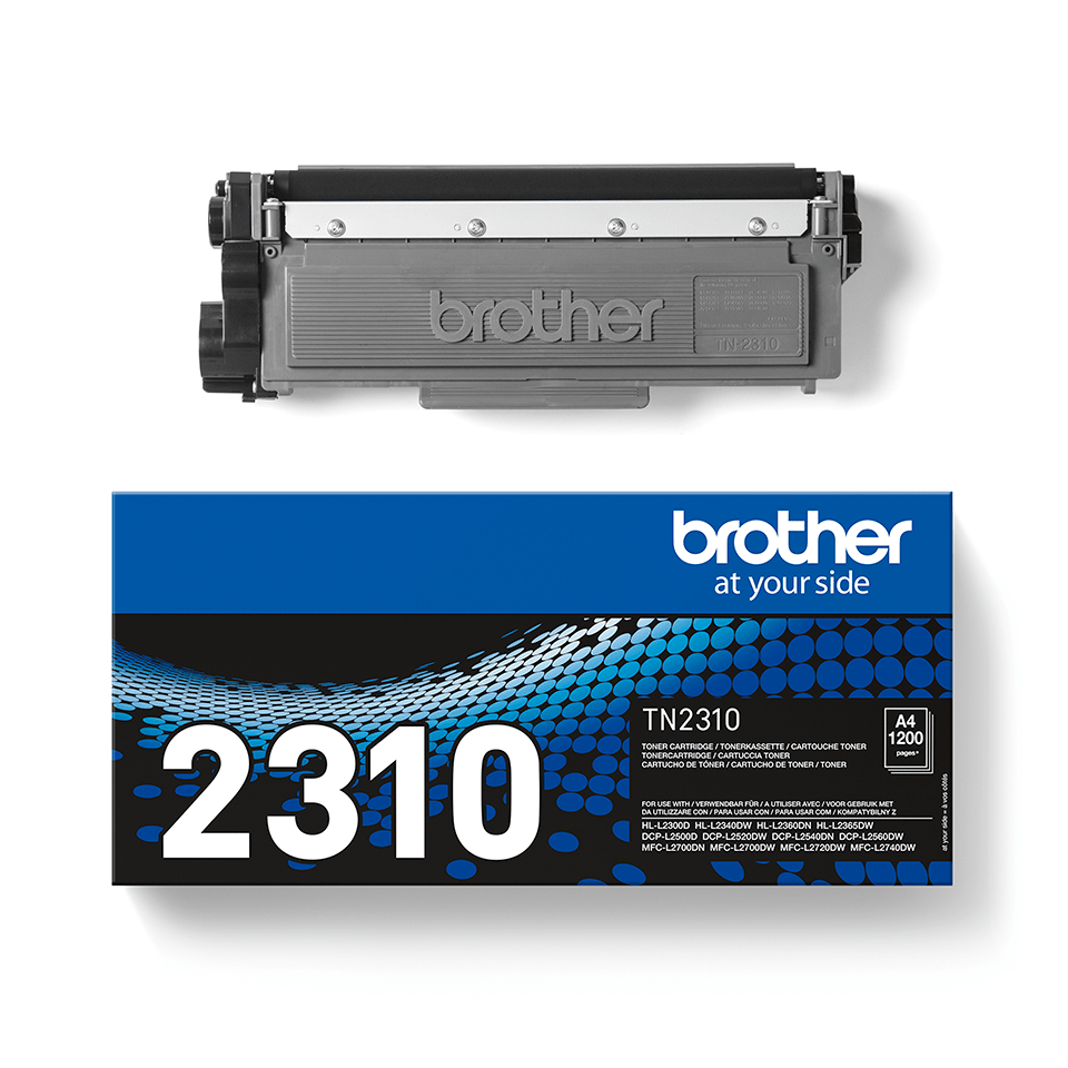 Cartuș de toner original Brother TN-2310 – negru 3
