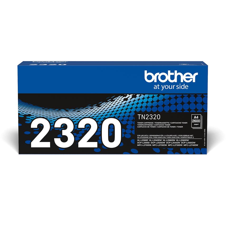 Cartuș de toner negru de capacitate mare original Brother TN-2320