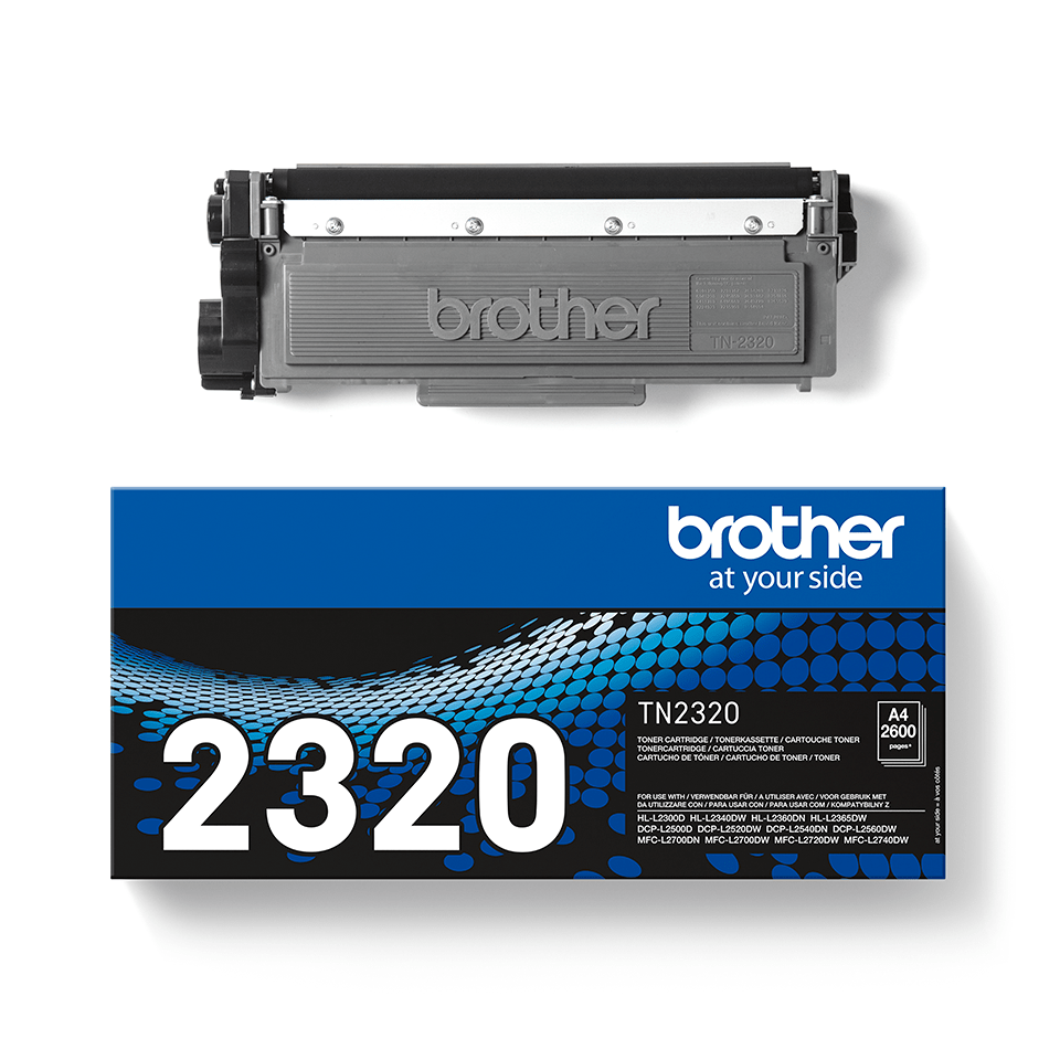 Cartuș de toner negru de capacitate mare original Brother TN-2320 3