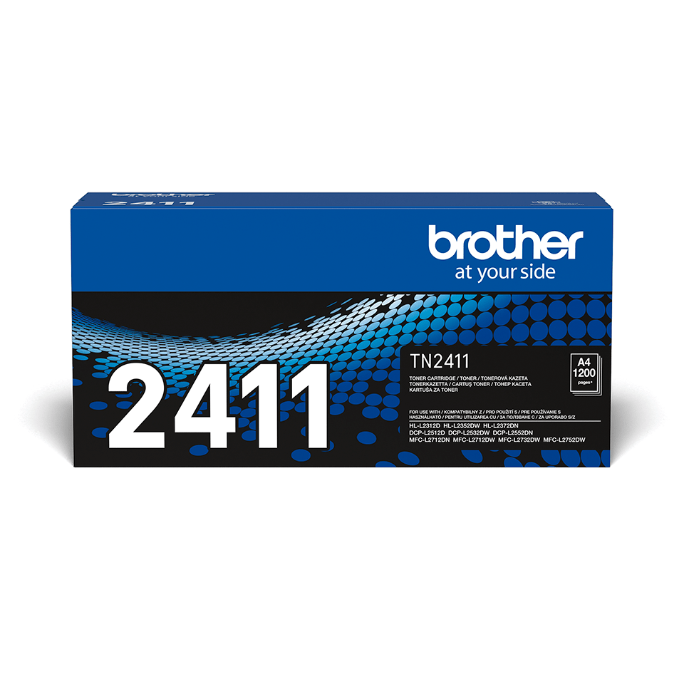 Cartuș de toner negru original Brother TN-2411