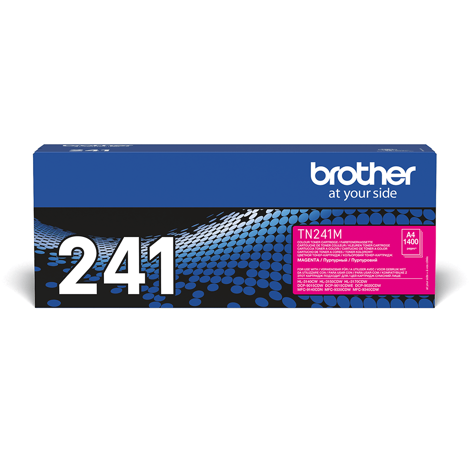 Cartuș de toner original Brother TN241M – magenta