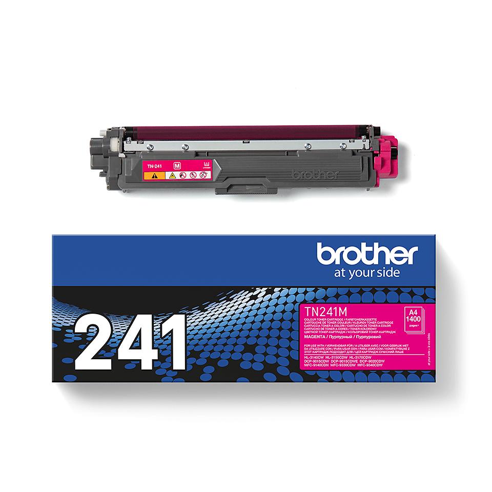 Cartuș de toner original Brother TN241M – magenta 3