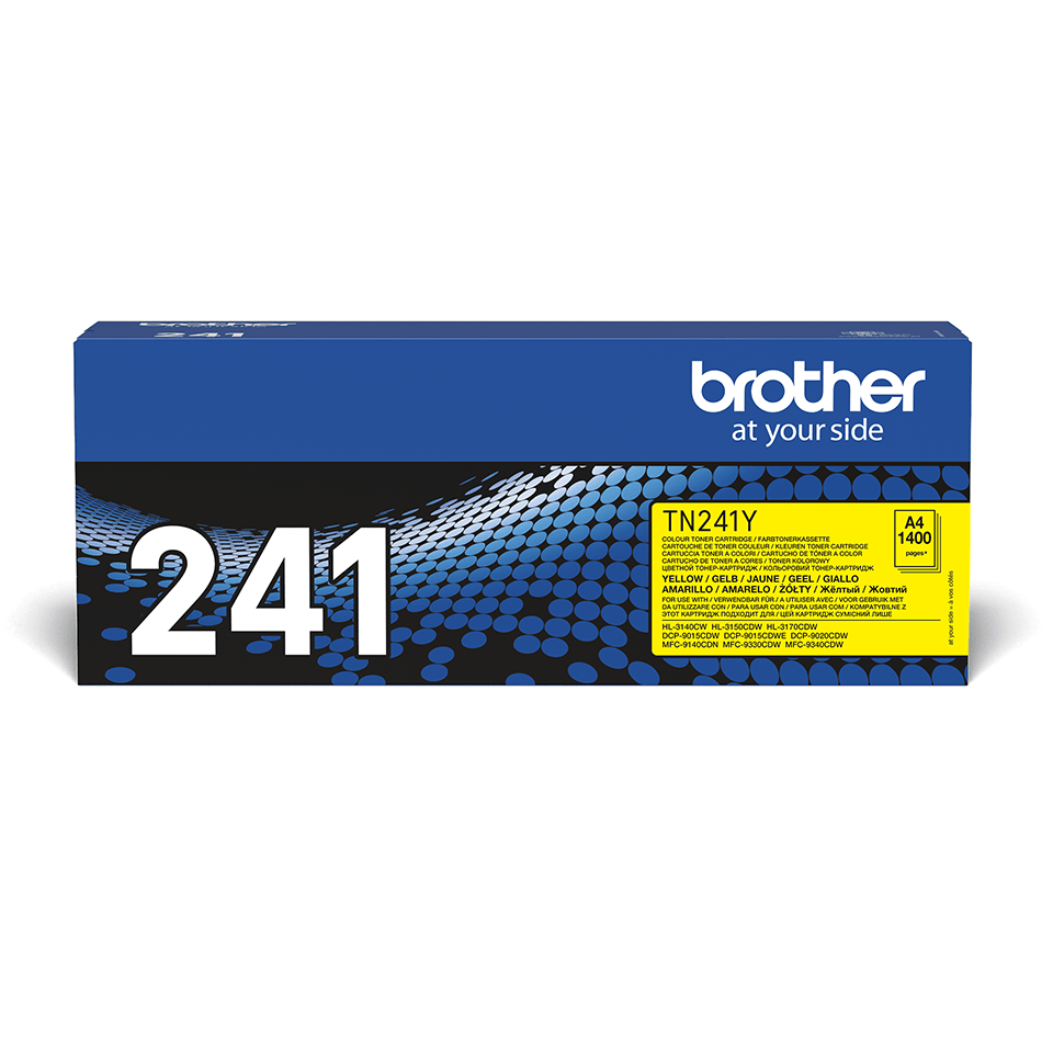 Cartuș de toner original Brother TN241Y – galben 2