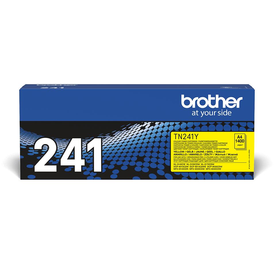 Cartuș de toner original Brother TN241Y – galben