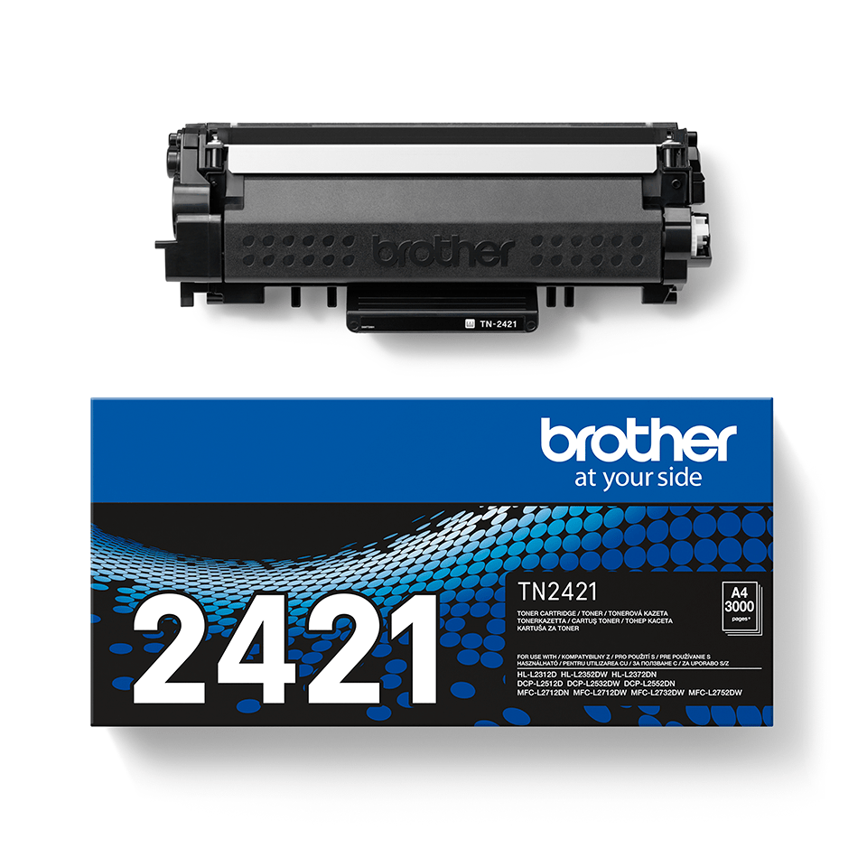 Cartuș de toner negru original Brother TN-2421 2