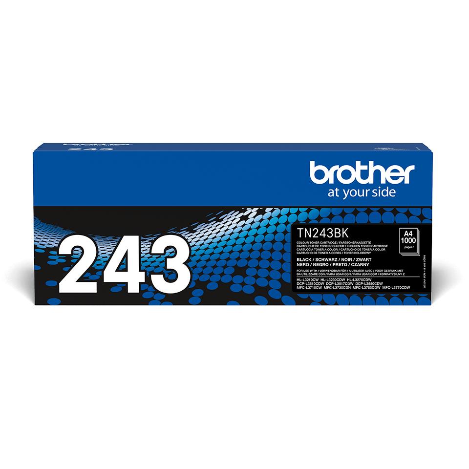 Cartuș de toner original Brother TN-243BK - negru