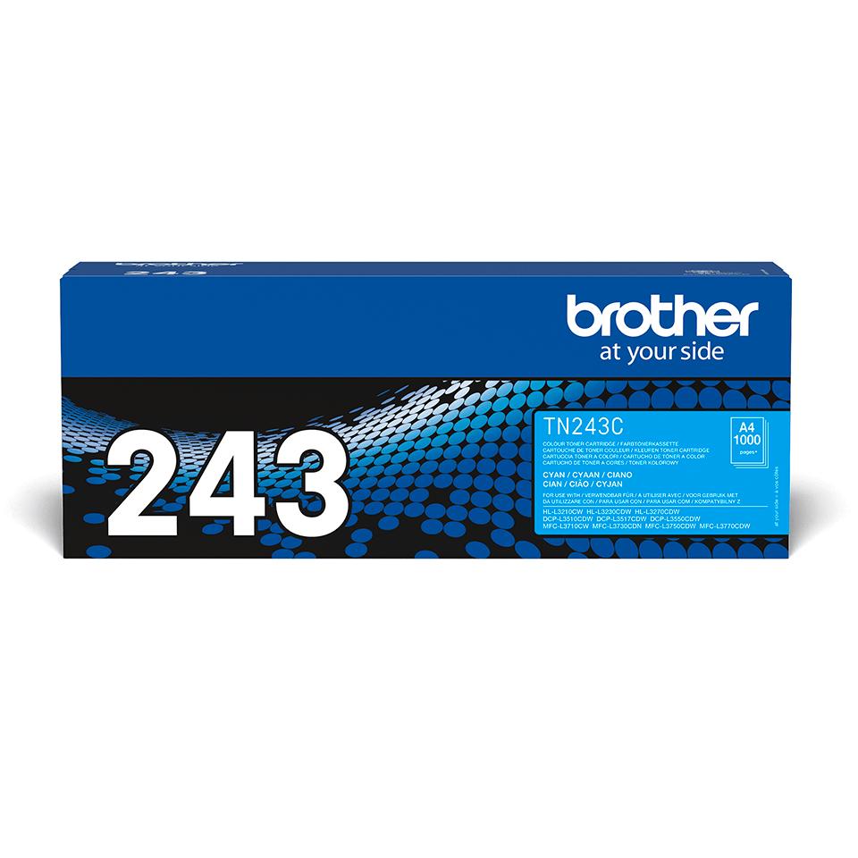 Cartuș de toner original Brother TN-243C - Cyan 2