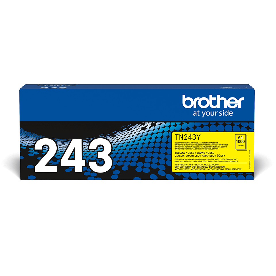 Cartuș de toner original Brother TN-243Y - Galben 2