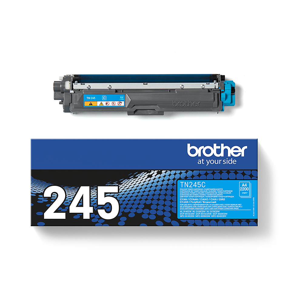 Cartuș de toner original Brother TN-245C – cyan 2