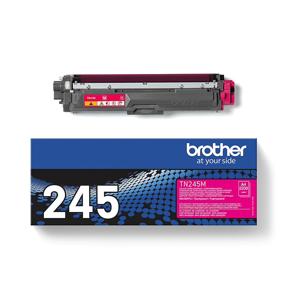 Cartuș de toner original Brother TN245M – magenta  2