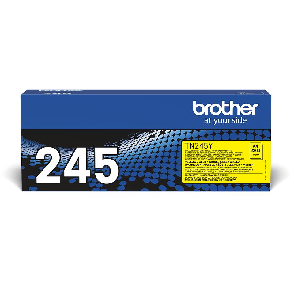 Cartuș de toner original Brother TN245Y – galben