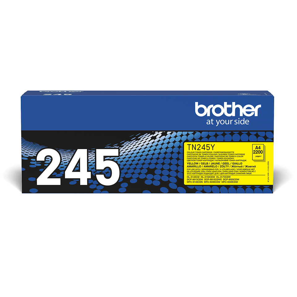 Cartuș de toner original Brother TN245Y – galben