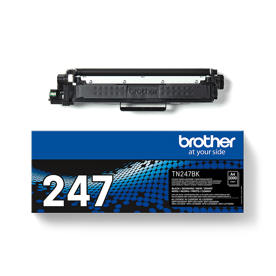 Cartuș de toner original Brother TN-247BK - Negru 2