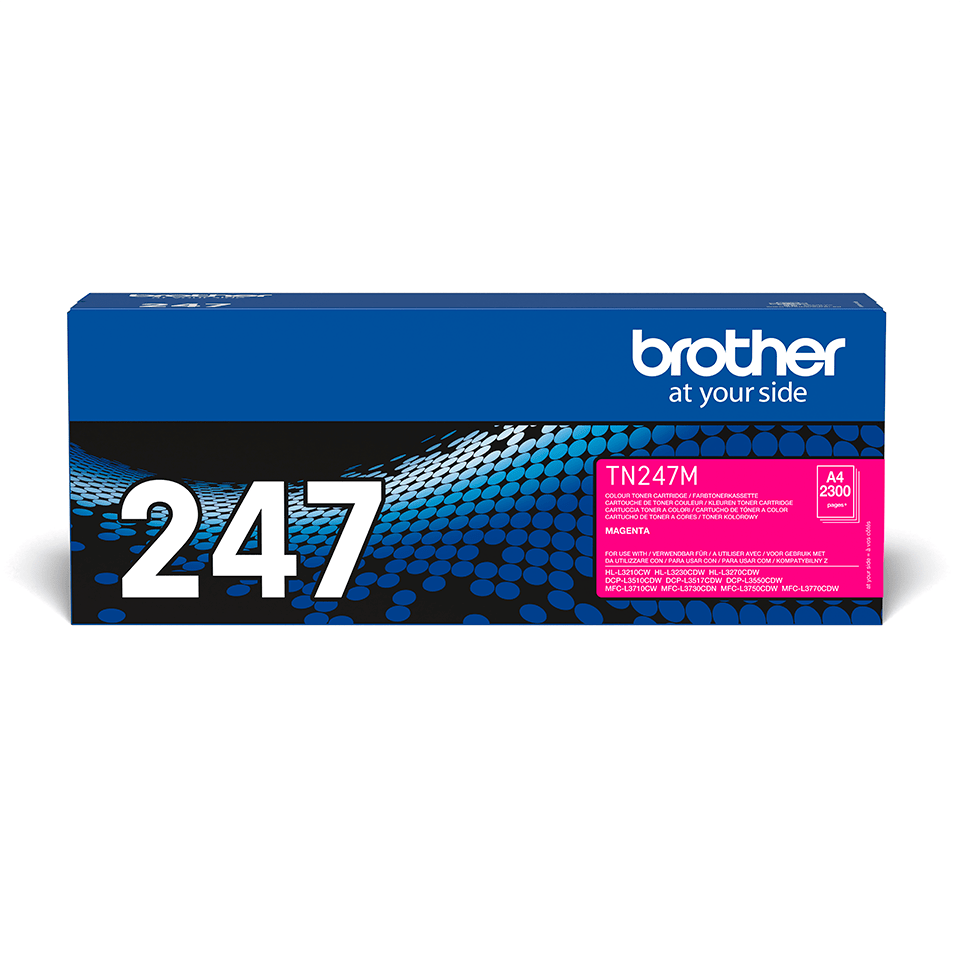 Cartuș de toner original Brother TN-247M - Magenta