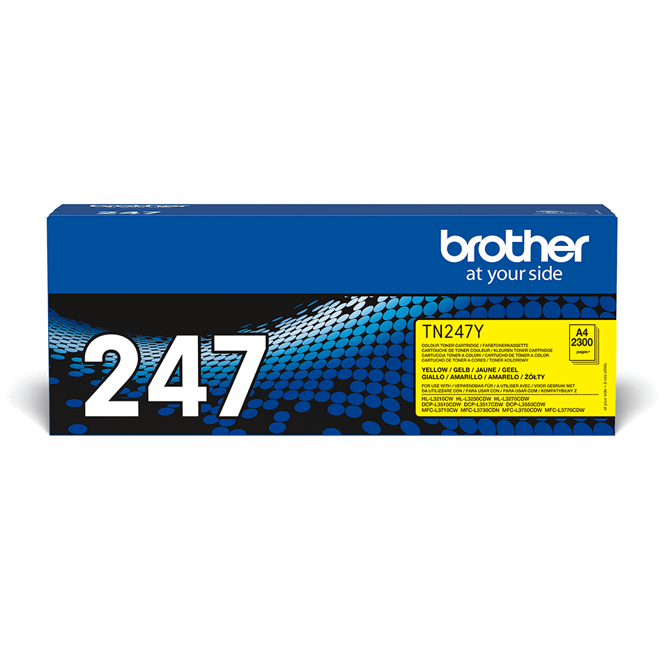 Cartuș de toner original Brother TN-247Y - Galben