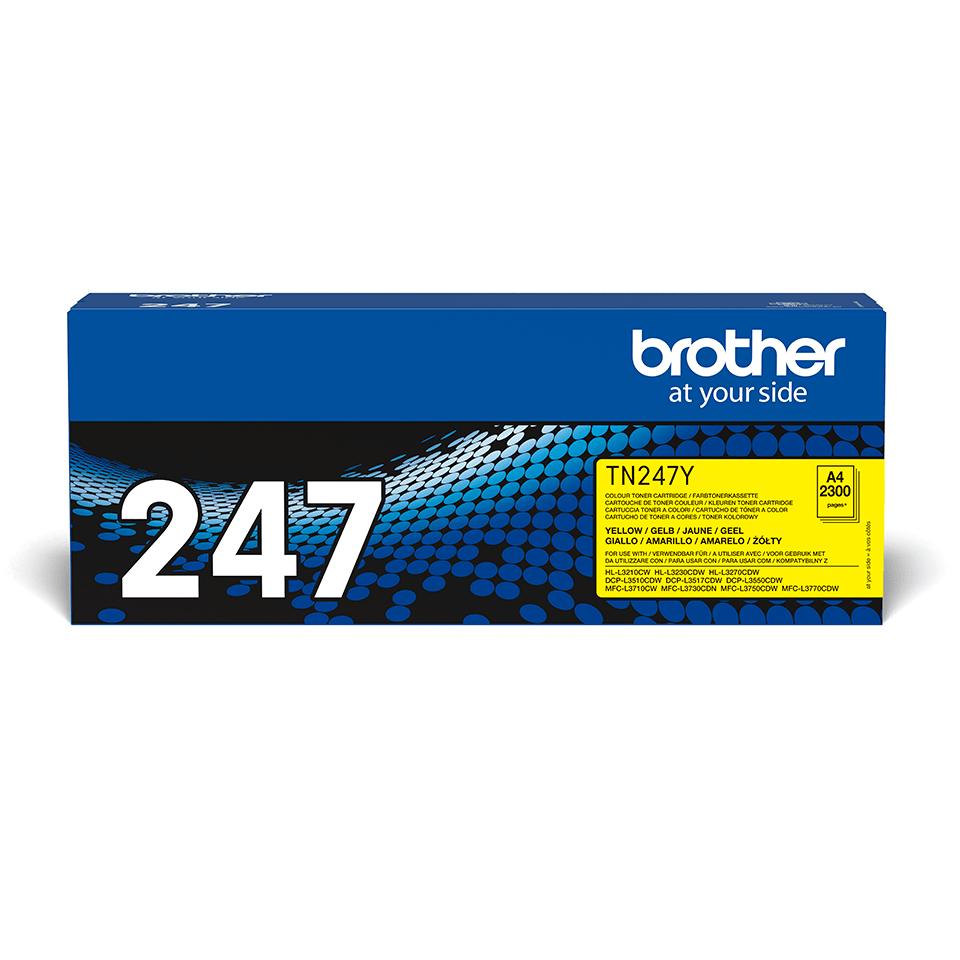 Cartuș de toner original Brother TN-247Y - Galben 2