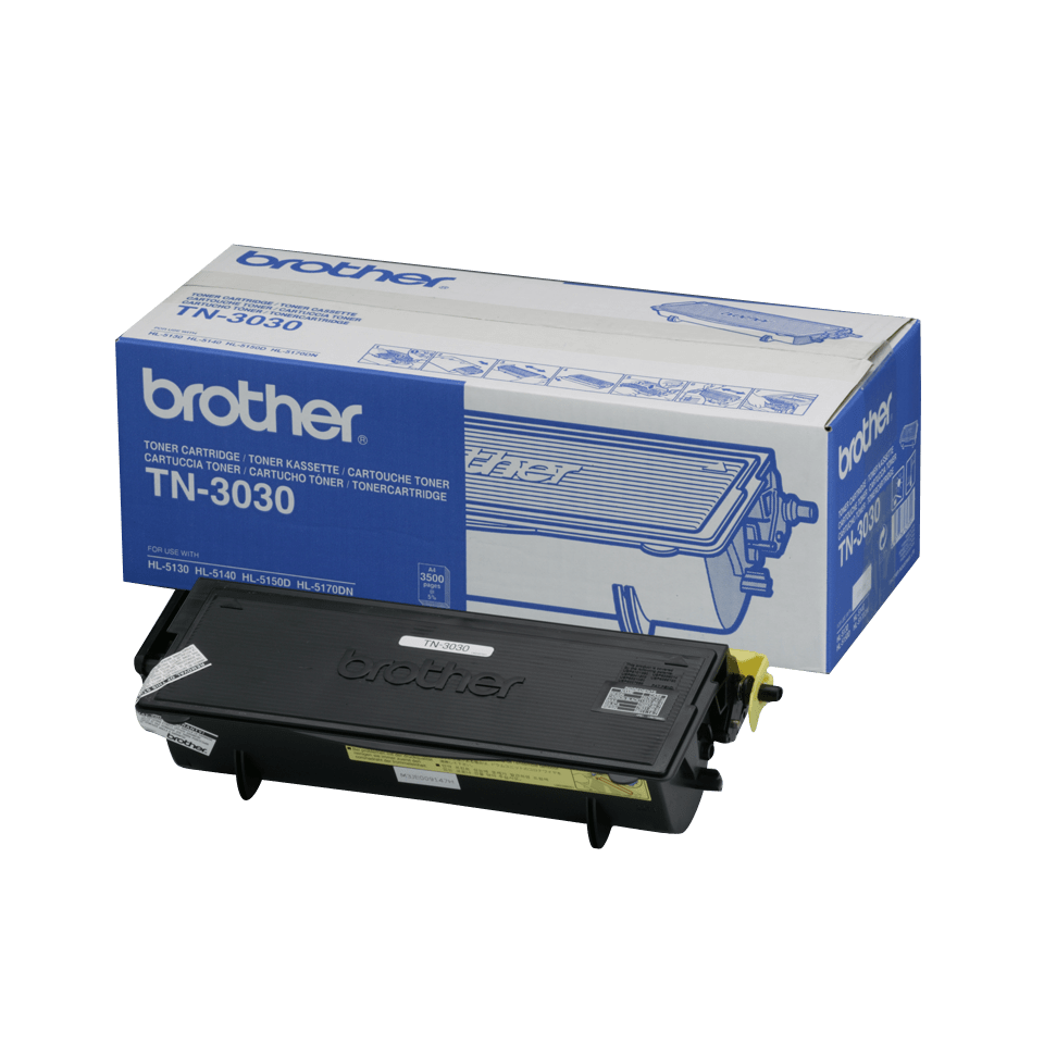 Cartuș de toner original Brother TN3030 de capacitate mare – negru