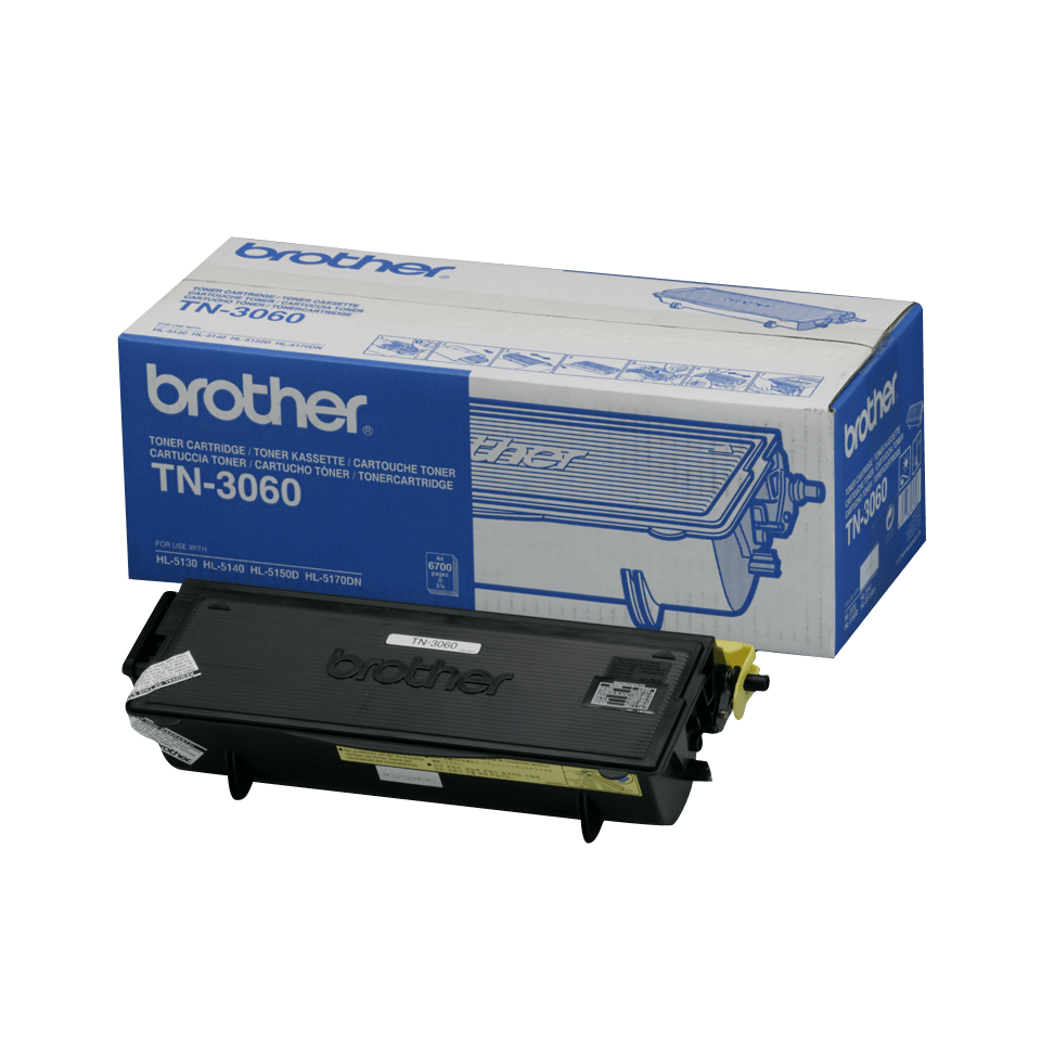 Cartuș de toner original Brother TN3060 de capacitate mare – negru
