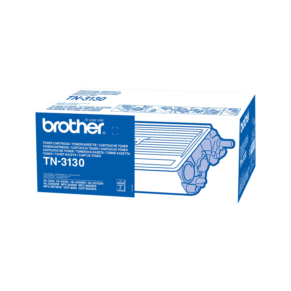 Cartuș de toner original Brother TN3130 de capacitate mare – negru