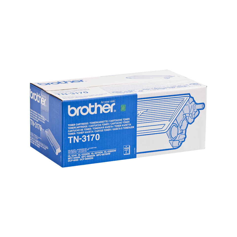 Cartuș de toner original Brother TN3170 de capacitate mare – negru 2