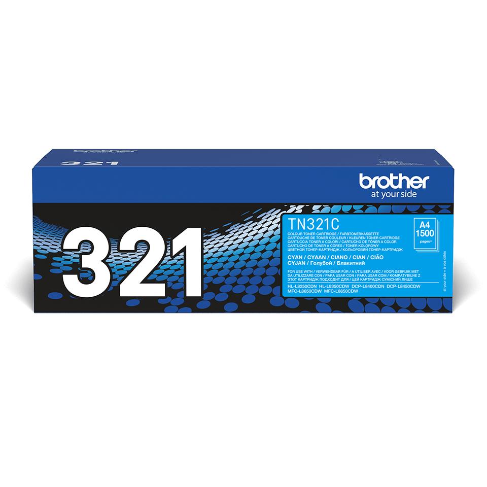 Cartuș de toner original Brother TN321C – cyan