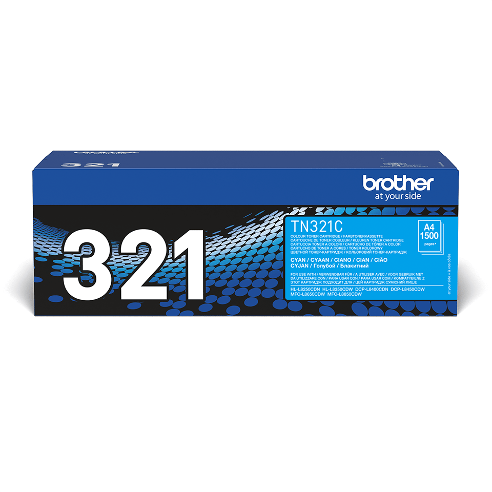 Cartuș de toner original Brother TN321C – cyan